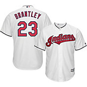Majestic Youth Replica Cleveland Indians Michael Brantley #23 Cool Base Home White Jersey