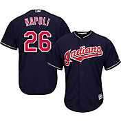 Majestic Youth Replica Cleveland Indians Mike Napoli #26 Cool Base Alternate Navy Jersey