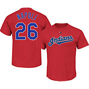 Majestic Youth Cleveland Indians Mike Napoli #26 Red T-Shirt