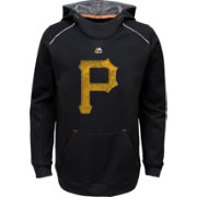 Majestic Youth Pittsburgh Pirates Black Paramount Pullover Hoodie