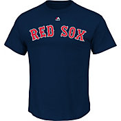 Majestic Youth Boston Red Sox Official Wordmark Navy T-Shirt