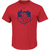 Majestic Youth Boston Red Sox Going Home Red T-Shirt