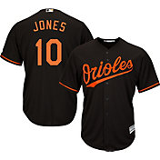 Majestic Youth Replica Baltimore Orioles Adam Jones #10 Cool Base Alternate Black Jersey