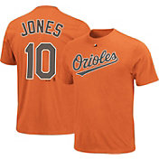 Majestic Youth Baltimore Orioles Adam Jones #10 Orange T-Shirt