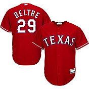 Majestic Youth Replica Texas Rangers Adrian Beltre #29 Cool Base Alternate Red Jersey