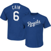 Majestic Youth Kansas City Royals Lorenzo Cain #6 Royal T-Shirt