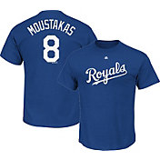 Majestic Youth Kansas City Royals Mike Moustakas #8 Royal T-Shirt