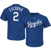 Majestic Youth Kansas City Royals Alcides Escobar #2 Royal T-Shirt