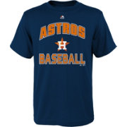 "Majestic Youth Houston Astros Navy ""Astros Baseball"" T-Shirt"