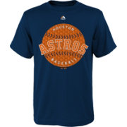 Majestic Youth Houston Astros Electric Baseball Navy T-Shirt
