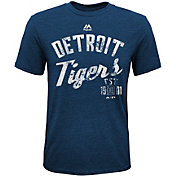 Majestic Youth Detroit Tigers Our League Navy T-Shirt