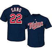 Majestic Youth Minnesota Twins Miguel Sanó #22 Navy T-Shirt