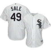 Majestic Youth Replica Chicago White Sox Chris Sale #49 Cool Base Home White Jersey