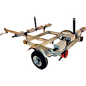 Malone XtraLight L-Rack 4-Kayak Trailer Package
