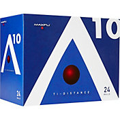 Maxfli A10 Ti-Distance Golf Balls – 24-Pack