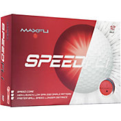 Maxfli SpeedFli Red Golf Balls