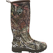 Muck Boot Men's Woody Plus Mossy Oak Country Rubber Hunting Boots