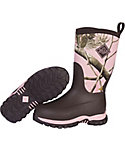 Muck Boots Kids' Rugged II Camo Waterproof Hunting Boots