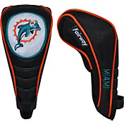 McArthur Sports Miami Dolphins Shaft Gripper Fairway Headcover