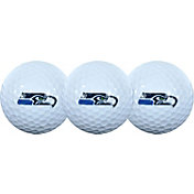McArthur Sports Seattle Seahawks 3-Pack Golf Ball Sleeve