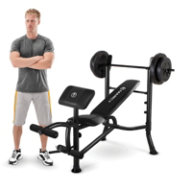 Marcy Standard Bench and 80 lb. Weight Set