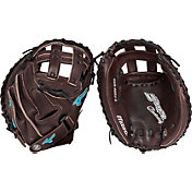 "Mizuno 34"" Supreme Brown Series Fastpitch Catcher's Mitt"