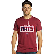 Majestic Threads Men's Washington Nationals Red T-Shirt