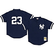 Mitchell & Ness Men's Replica New York Yankees Don Mattingly Navy Cooperstown Batting Practice Jersey