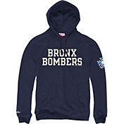 "Mitchell & Ness Men's New York Yankees ""Bronx Bombers"" Navy Pullover Hoodie"