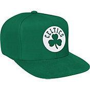 Mitchell & Ness Men's Boston Celtics Wool Solid Kelly Green Adjustable Snapback Hat
