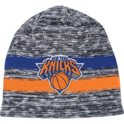 Mitchell & Ness Men's New York Knicks Team Stripe Knit Hat