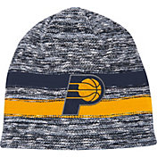 Mitchell & Ness Men's Indiana Pacers Team Stripe Knit Hat