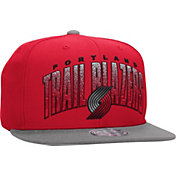 Mitchell & Ness Men's Portland Trail Blazers Double Bonus Red Snapback Hat