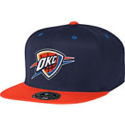 Mitchell & Ness Men's Oklahoma City Thunder 2-Tone Hi-Crown Fitted Hat