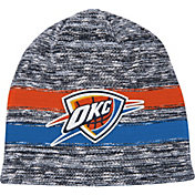 Mitchell & Ness Men's Oklahoma City Thunder Team Stripe Knit Hat