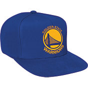 Mitchell & Ness Men's Golden State Warriors Royal Adjustable Snapback Hat