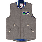Mitchell & Ness Men's Seattle Seahawks Margin of Victory Grey Vest