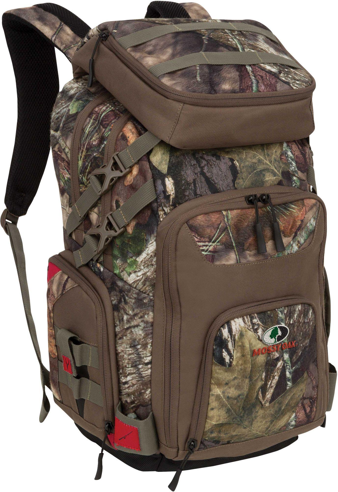 Mossy oak tackle backpack ebay for Fishing tackle backpack