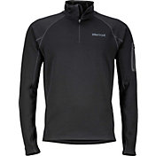 Marmot Men's Stretch Fleece Half-Zip Long Sleeve Shirt