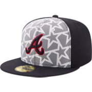 New Era Men's Atlanta Braves 59Fifty 2016 4th of July Authentic Hat