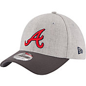 New Era Men's Atlanta Braves 39Thirty Grey Change Up Classic Flex Hat