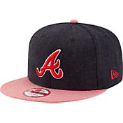 New Era Men's Atlanta Braves 9Fifty Heather Action Adjustable Hat