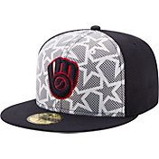 New Era Men's Milwaukee Brewers 59Fifty 2016 4th of July Authentic Hat