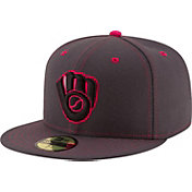 New Era Men's Milwaukee Brewers 59Fifty 2016 Mother's Day Authentic Hat