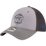 New Era Men's Chicago Cubs 39Thirty Neo Grey Flex Hat
