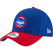 New Era Men's Chicago Cubs 39Thirty Cooperstown Diamond Era Royal Flex Hat