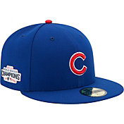 New Era Men's 2016 World Series Champions 59Fifty Chicago Cubs Game Royal Authentic Hat