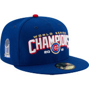 New Era Men's 2016 World Series Champions 59Fifty Chicago Cubs Royal Fitted Hat
