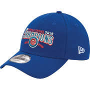 New Era Men's 2016 World Series Champions 9Forty Chicago Cubs Royal Adjustable Hat