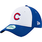 New Era Men's Chicago Cubs 9Forty White/Royal Adjustable Hat